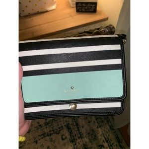 Mint and Black Kate Spade Crossbody
